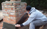 Cement finishing, brick work & chimney repair
