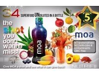 Moa - Here's a Health Boost in 1 bottle filled with 34 Superfruits !! (1 Bottle)