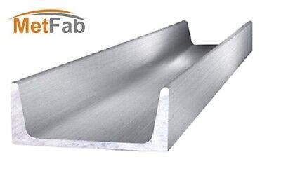 Aluminum Channel 5.0 W X 1.885 H X 36 Length - As 6061-t6