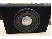 SUB SUBWOOFER FOR CAR JBL MINT 12 INCH 1200w QUICK SALE READY FOR AMP