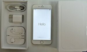64Gb Silver iPhone 6 - Unlocked 10/10 condition