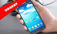 Galaxy S4 noir 16Go + case + 2 batteries