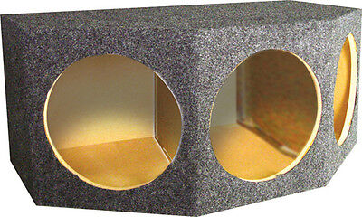 "Subwoofer sub Speaker Box (3) 12"" WOOFER QBASS123 35"" x 15"" x 12""/20-1/4"""