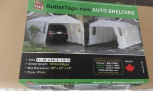 CAR SHELTER   8*11*16   SPECIAL  PRICE (  BRAND NEW)