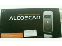 Digital Personal Breathalyzer By Alcoscan