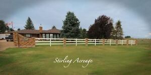 Stirling Acreage/ Horse Retreat...