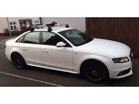 Audi A4 S-Line 1.8Tfsi Saloon Black Edition - 82k Miles - Just Serviced - Brand New Alloys