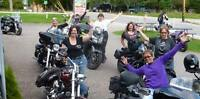 """""""WindSisters"""" Female Motorcycle Riding Group"""