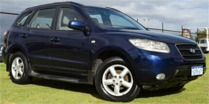 2008 Hyundai Santa Fe CM SLX Blue Sports Automatic Wagon Rockingham Rockingham Area Preview