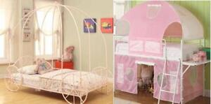 Princess/Sweetheart Tent bed-Two Choices-Free Edm. Delivery!!