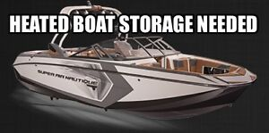 In Search of Heated Boat Storage