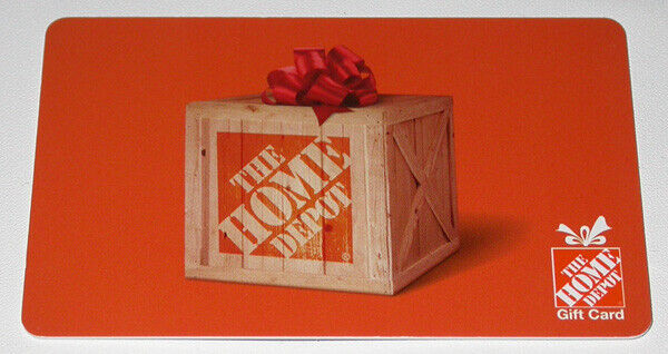 HOME DEPOT 500 PHYSICAL GIFT CARD - $475.00