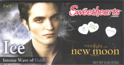 The Twilight Saga New Moon Sweethearts Edward Ice Candy NEW SEALED