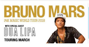 BRUNO MARS PERTH A RESERVE SEATED TIX 28TH MARCH (SOLD OUT) North Perth Vincent Area Preview