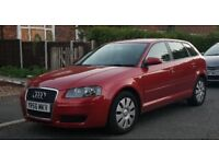 Audi A3, year 2007, 5 doors, 1.9 TDI, Sport version, HPI clear