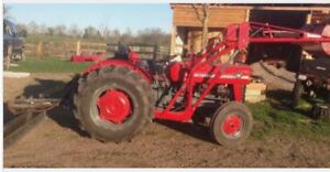 LOOKING FOR a small tractor with front loader WANTED