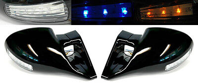 Chevy S10 Blazer GMC Jimmy Sonoma M3 LED Front Power Door Side Mirrors - Chevy Chevrolet Blazer Mirror