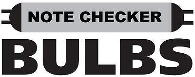 Note Checker Bulbs