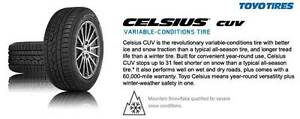 NEW TOYO CELSIUS AND CELSIUS CUV ALL-WEATHER TIRES Oakville / Halton Region Toronto (GTA) image 3