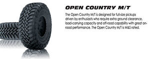 "TOYO Open Country M/T 33"" (285/70/18) set of 4"