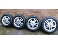 Ford focus alloy wheels x4
