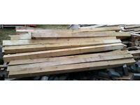 6 8ft Fence Posts