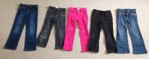 Size 6/6x girls pants (5 pairs)