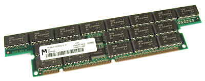 Ecc-buffered Memory Module (Micron 256MB 168-Pin EDO ECC Buffered 50ns MT36LD327CG-5 Memory Module 228471-00)