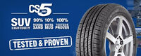brand new Cooper C5S 195/65R15 $436 for 4 tx in, $70 rebate
