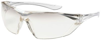 Bouton Bullseye Safety Glasses with Clear Temple and Gradient Anti-Fog Lens