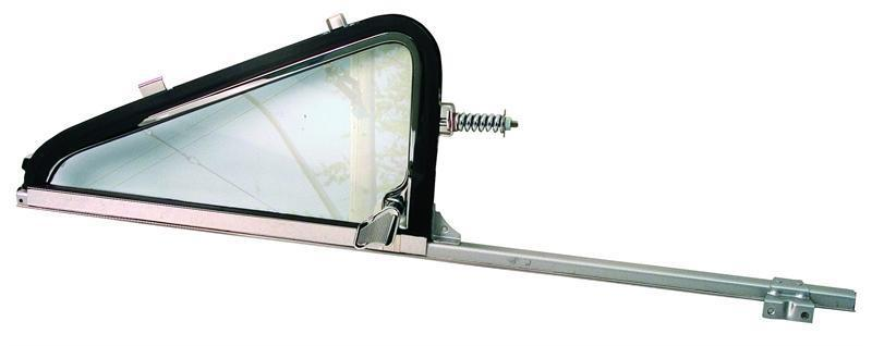 1964-66 Chevrolet Pickup Vent Window Assembly w/Clear Glass - LH New