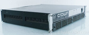 Crown MicroTech 600 Power Amplifier Windsor Region Ontario image 4