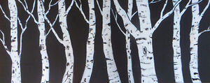 Classic Birch Painting by Diane Soward London Ontario image 1