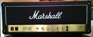 Marshall JCM 800 with 1960a