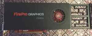 AMD ATI FirePro V5900 PCIe x16 2GB GDDR5 3D Graphics Card