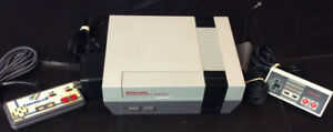Nintendo NES With 2 Controllers and 12 Games