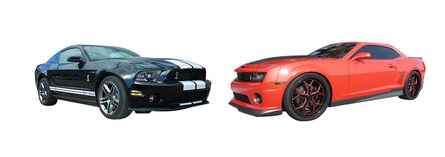 2010 ford mustang vs chevrolet camaro ebay. Black Bedroom Furniture Sets. Home Design Ideas