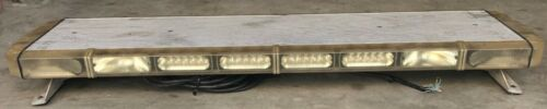 "WHELEN LFL LIBERTY SL8BBBB LED 49"" LIGHT BAR HALOGEN TAKE DOWN & ALLEY LIGHTS"