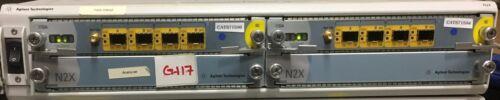 Agilent N5541A N2X Chassis w (2 X 1735A) LAN Protocol Fiber Modules