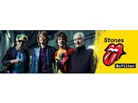 Rolling Stones @ Old Trafford Stadium, Manchester. return coach travel ticket from Birmingham