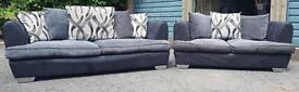 DFS sofa set 3+2 seater