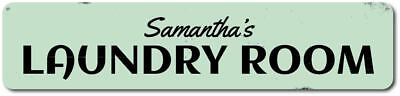 (Laundry Room Name Sign, Personalized Laundry Room Decor, Custom Sign ENSA1001752)