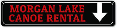 Custome Rental (Canoe Rental Sign, Custom Lake Sign, Arrow Sign, Lake Decor, Lake -)