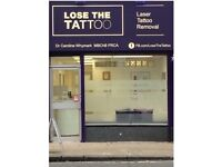 Franchise opportunity. Laser Tattoo Removal.