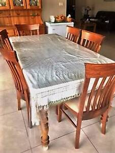 6 seater dinning table with 6 chairs Beaumont Hills The Hills District Preview