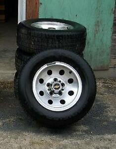 5 bolt Chev Aluminum Rally Wheels