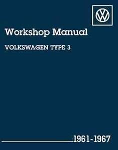 VW Volkswagen (Type 3) 1961 - 1967 Owners Service & Repair Manual Hazelbrook Blue Mountains Preview