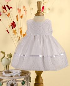 Wedding Christening Dress from POSH TOTS Sevva 0-6 months