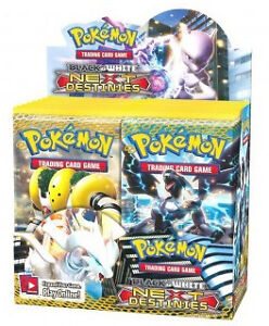 POKEMON BLACK & WHITE NEXT DESTINIES Booster Box 36ct CONTAINS w/ CODES SEALED!