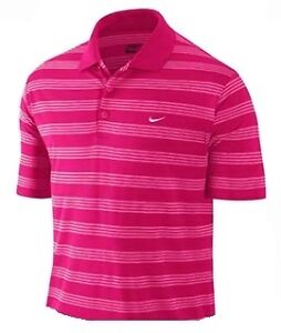 *NEW FOR 2013* NIKE DRI-FIT TECH STRIPE POLO SHIRT (VARIOUS COLOURS & SIZES)